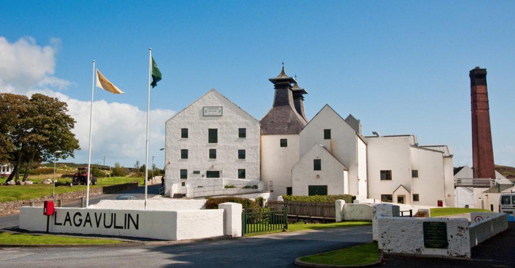 Lagavulin whisky distillery on Islay